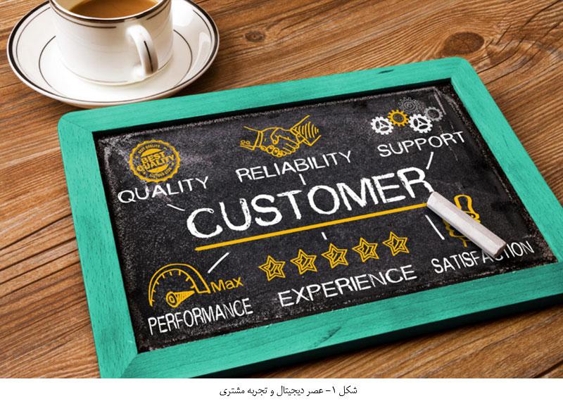 عصر دیجیتال و تجربه مشتری